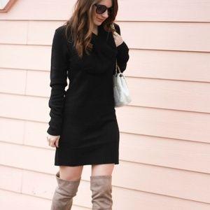 Bulky warm sweater dress